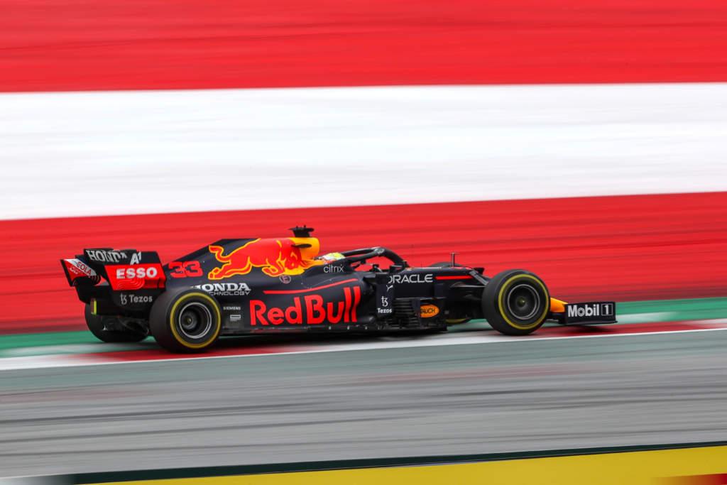 Max Verstappen Red Bull Austrian Grand Prix 2021