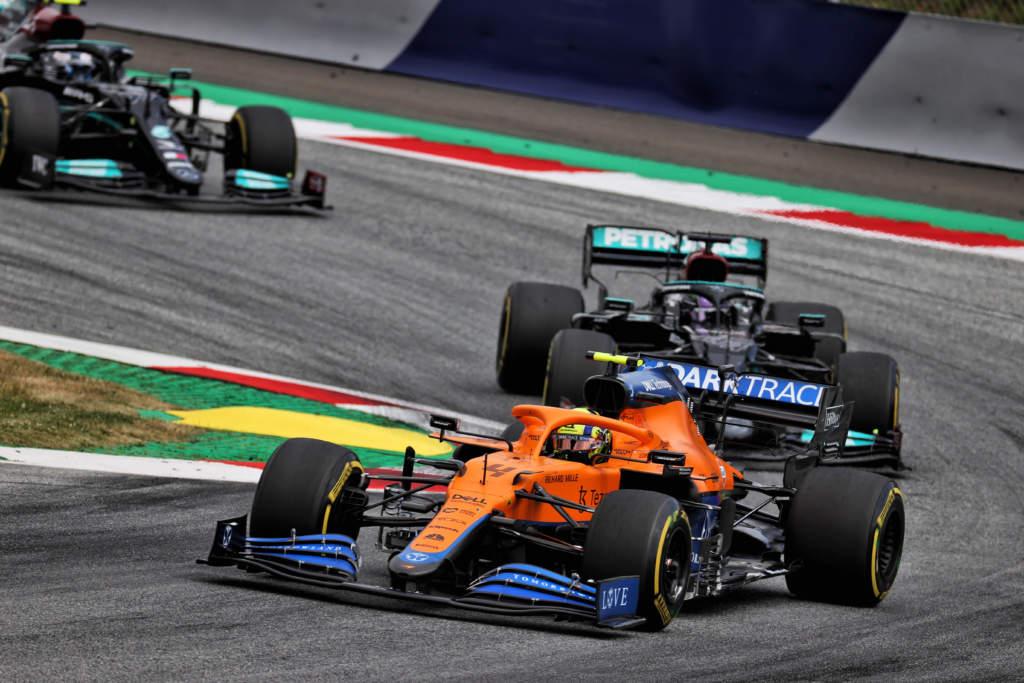 Lando Norris McLaren Austrian Grand Prix 2021