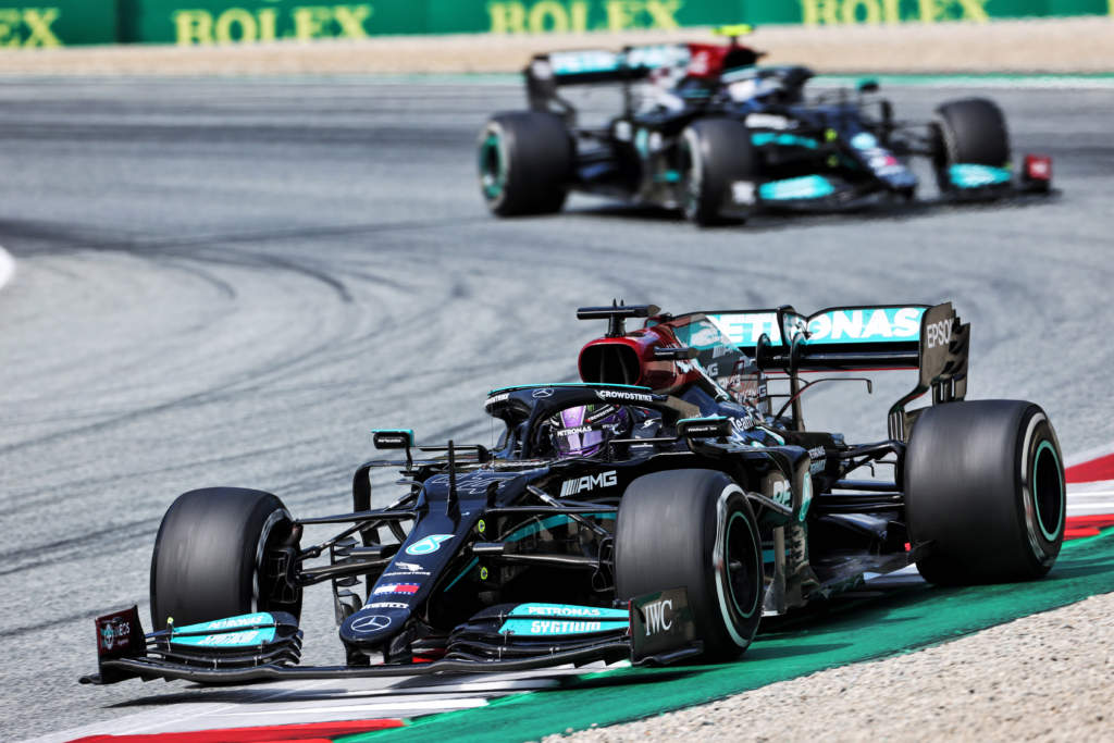 Lewis Hamilton Mercedes Austrian Grand Prix 2021