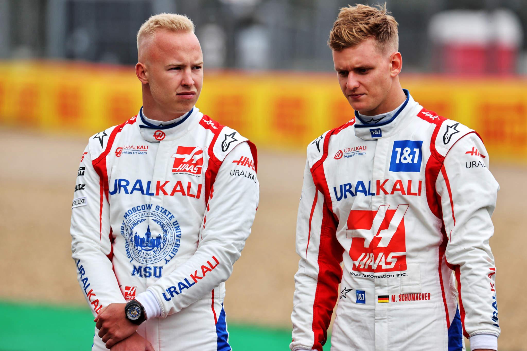 Motor Racing Formula One World Championship British Grand Prix Preparation Day Silverstone, England