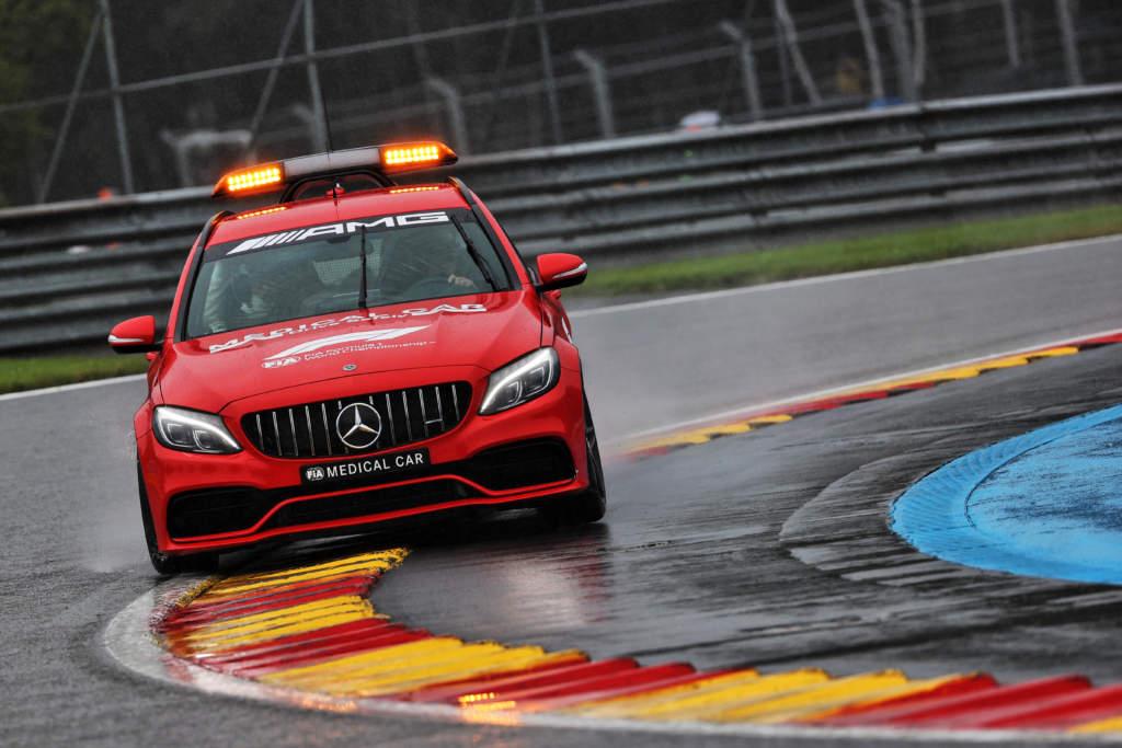 F1 safety car Belgian GP