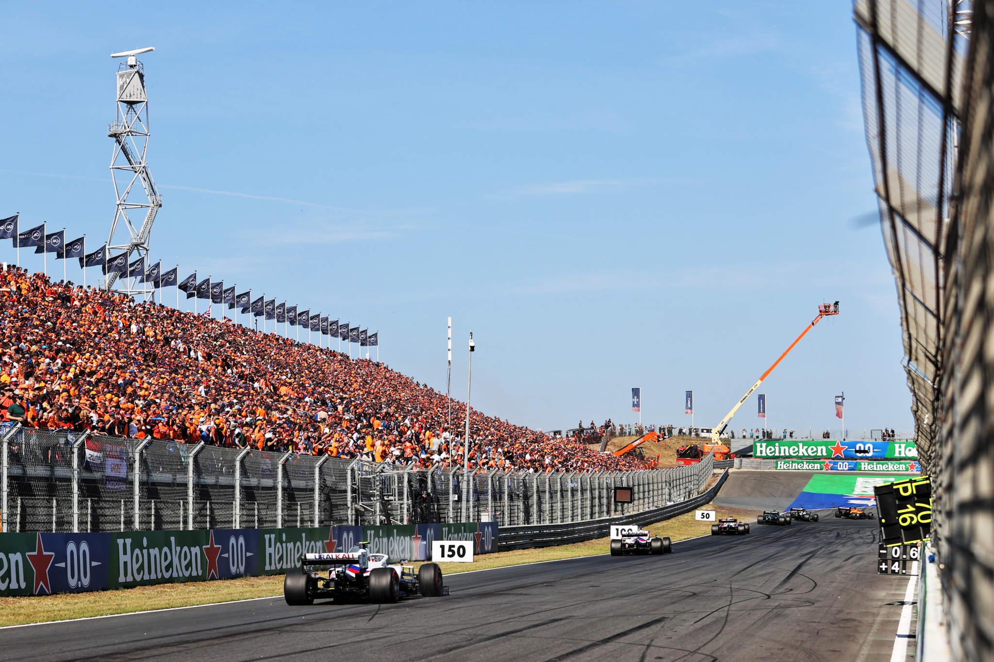 Motor Racing Formula One World Championship Dutch Grand Prix Race Day Zandvoort, Netherlands