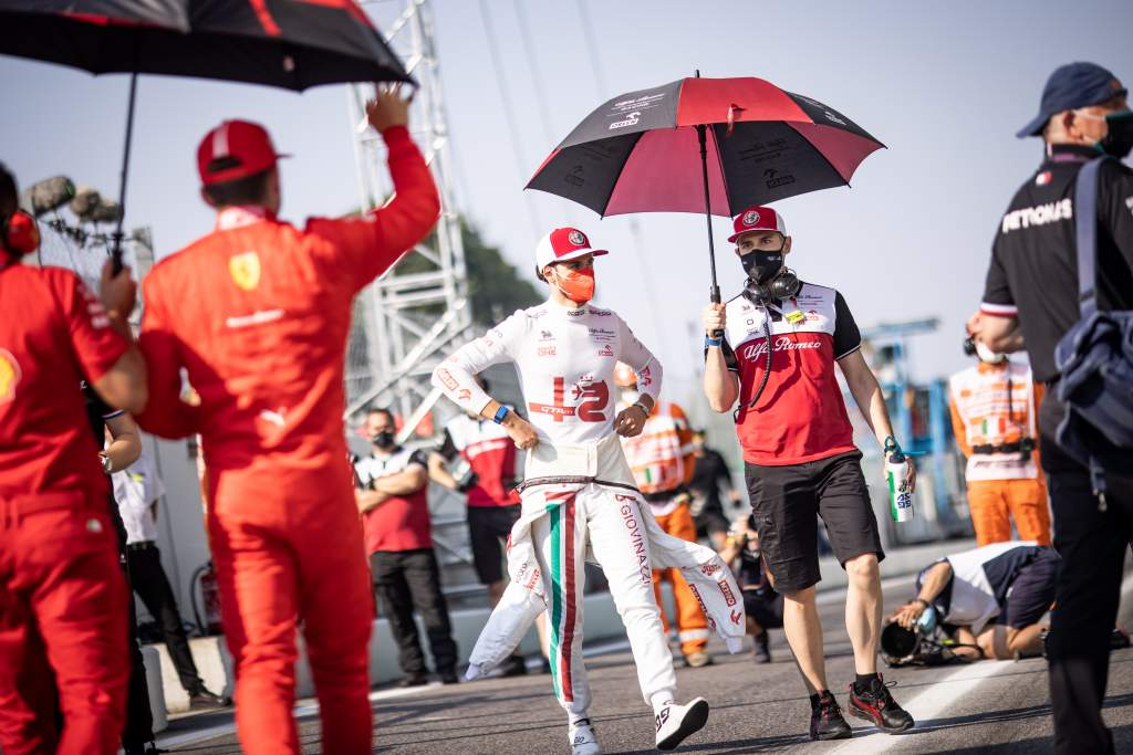 Ferrari wants Giovinazzi to stay but 'can't influence' Alfa - The Race