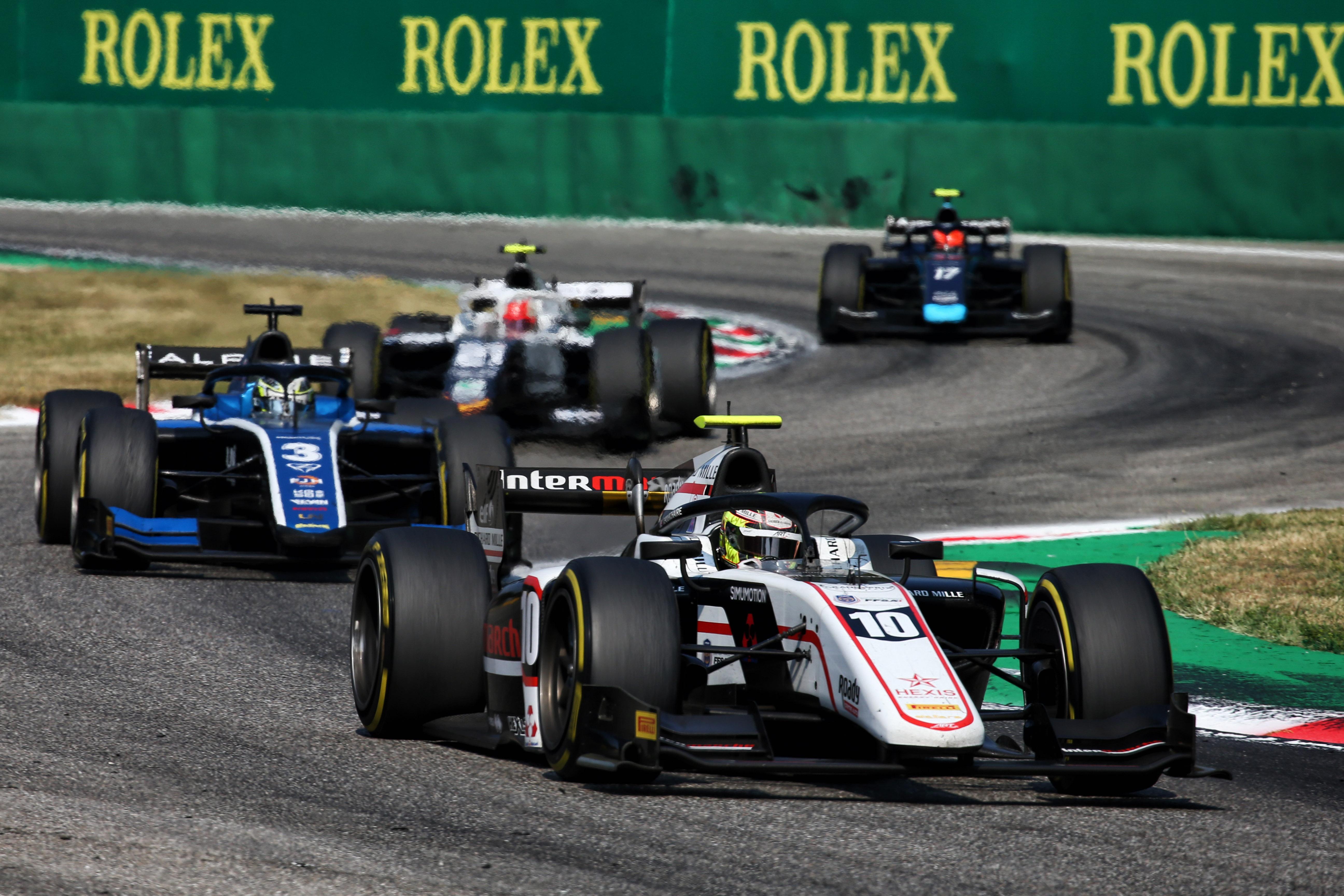 Motor Racing Fia Formula 2 Championship Saturday Monza, Italy