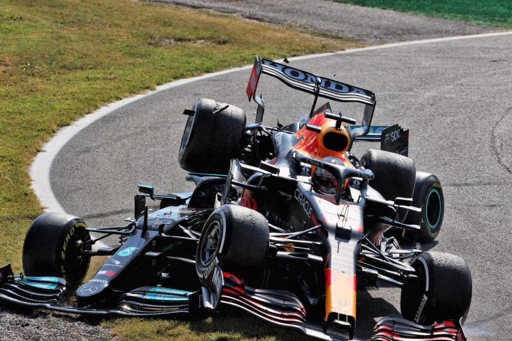 Max Verstappen Lewis Hamilton Monza 2021