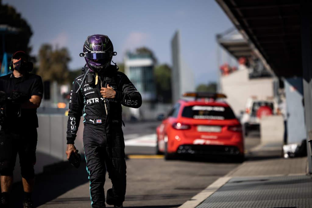 Lewis Hamilton F1 Mercedes Italian GP