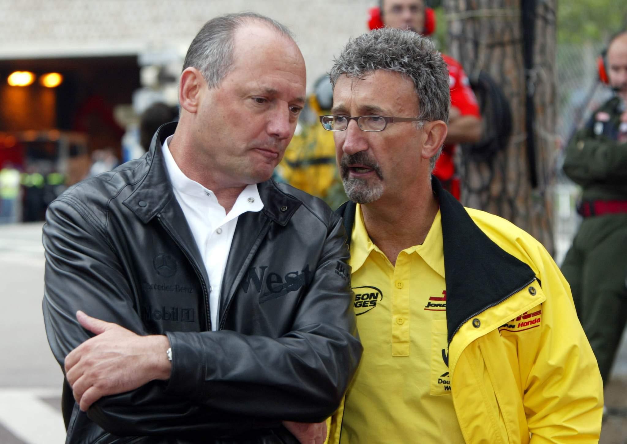 F1 In Monaco, Donnerstag, Training, Ron Dennis (mclaren) Und Eddie Jordan