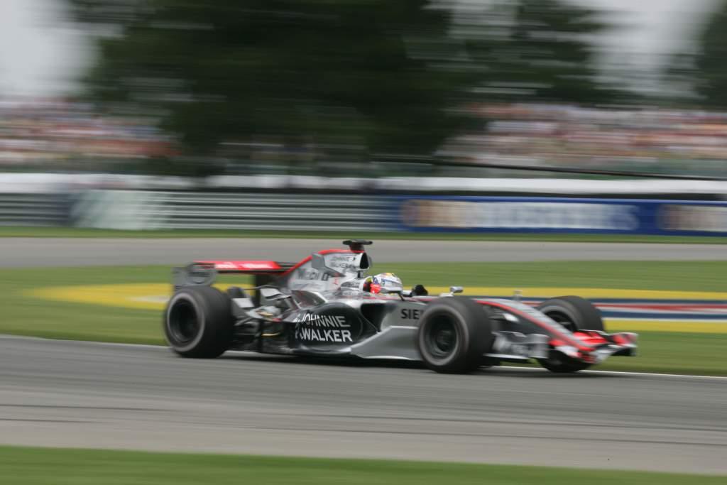 Juan Pablo Montoya McLaren Indianapolis F1 2006