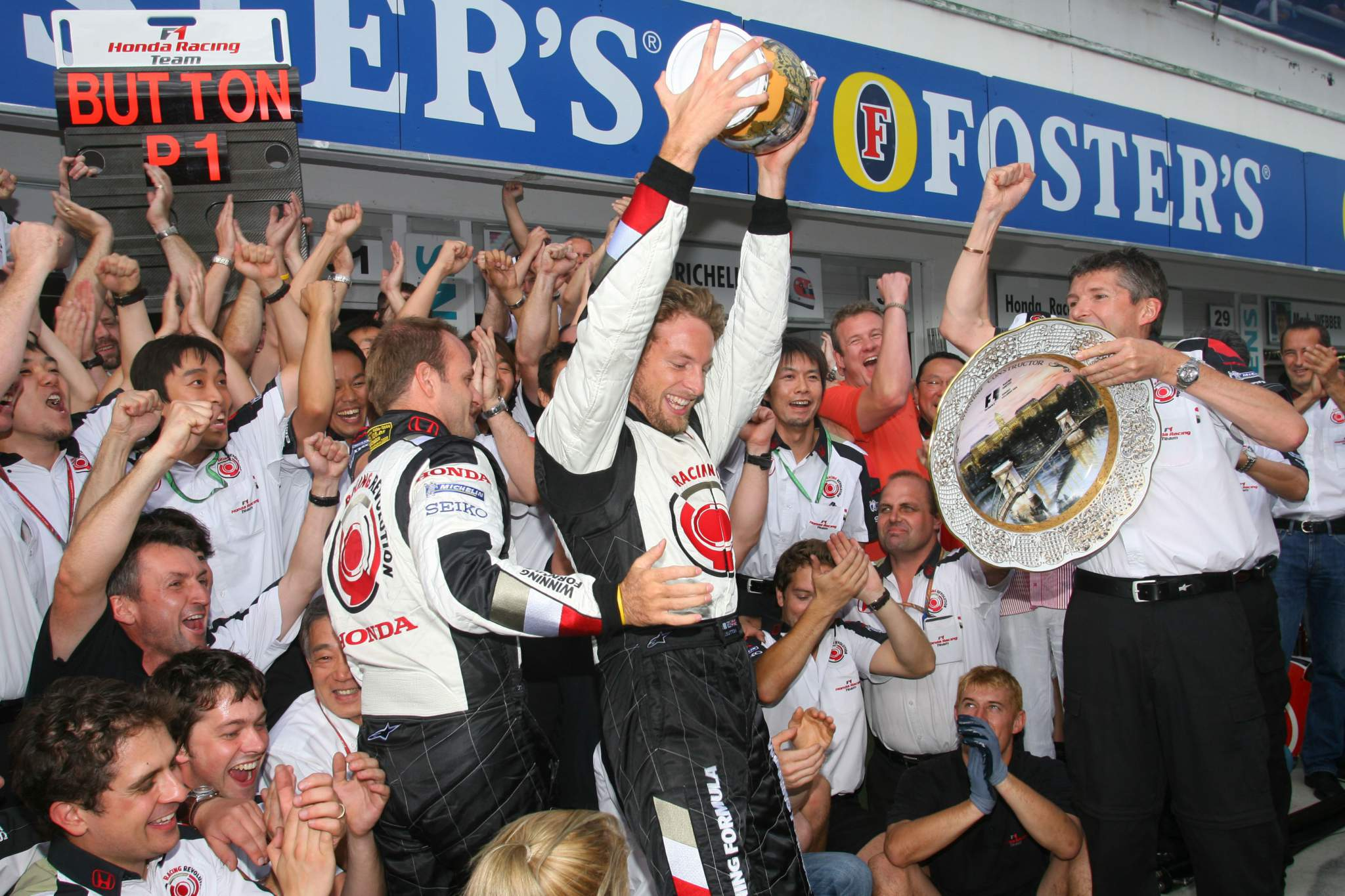 Formula 1 Grand Prix, Hungary, Sunday Podium
