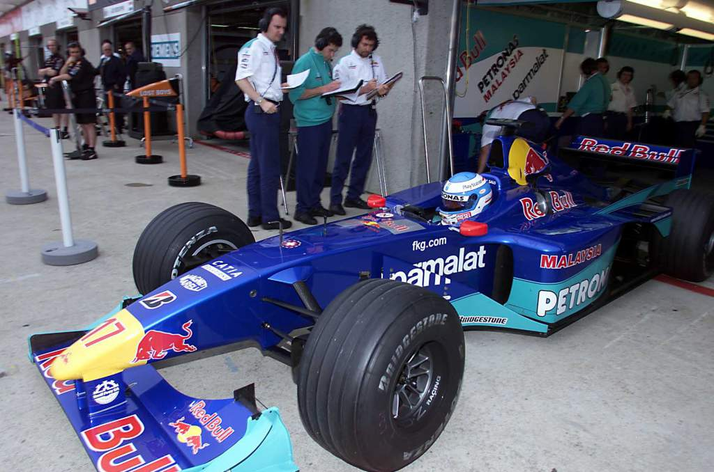 Mika Salo Sauber F1