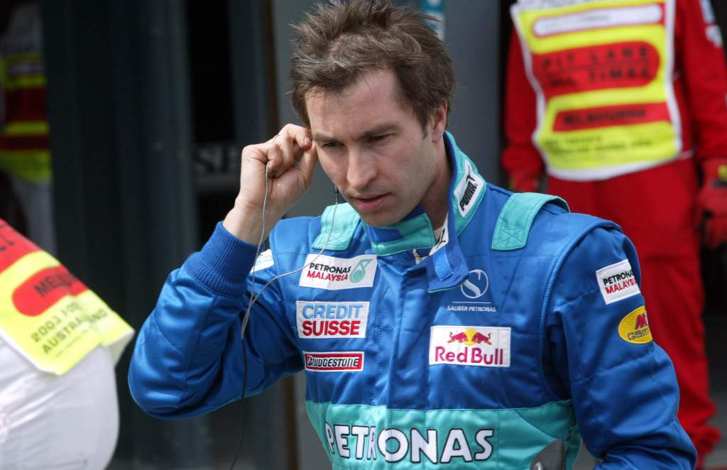 Heinz-Harald Frentzen Sauber F1
