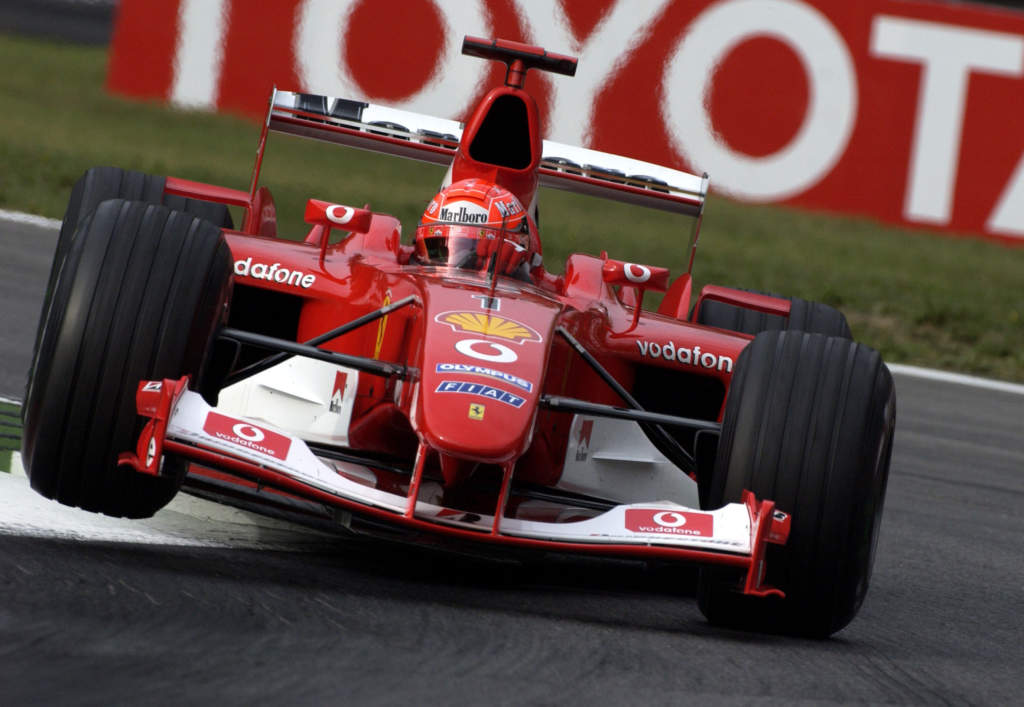 Michael Schumacher Ferrari 2003