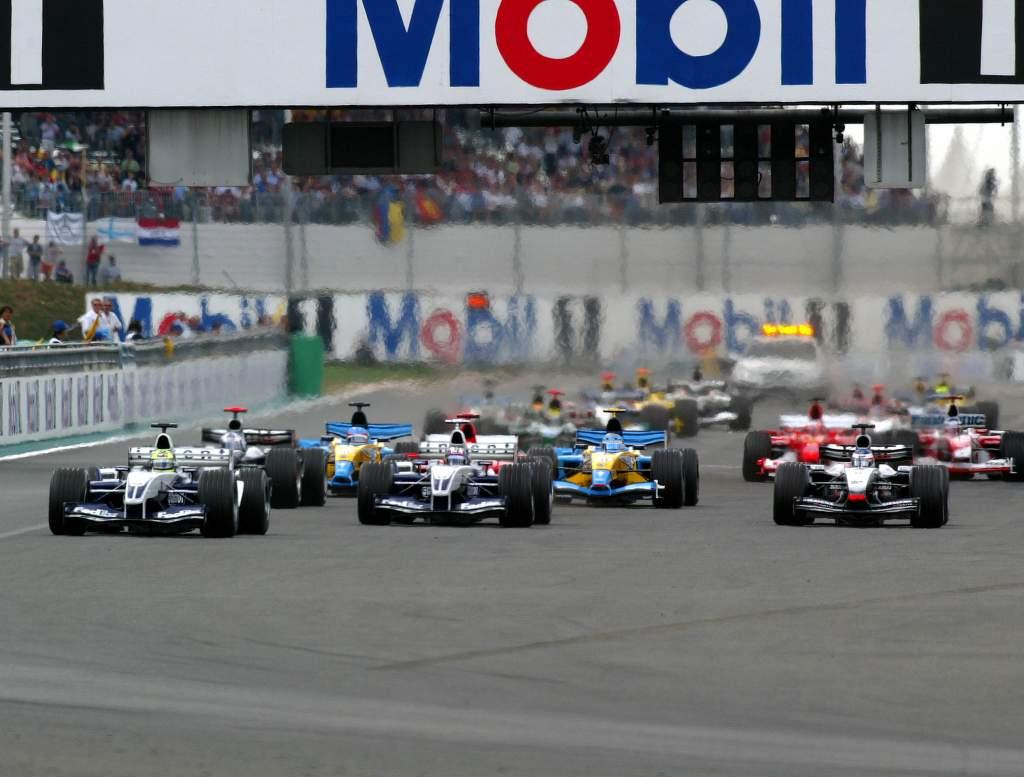 Fra, F1, Start.....
