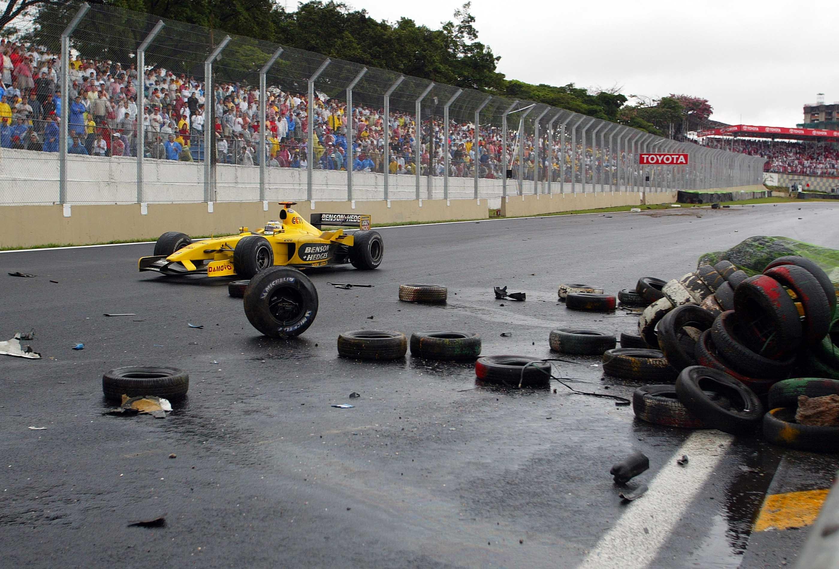 Sao Paolo, F1, So, Rennen, Crash