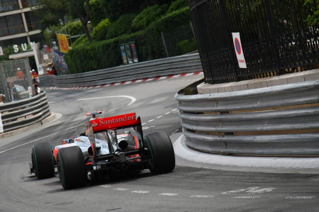 Lewis Hamilton McLaren F1 Monaco