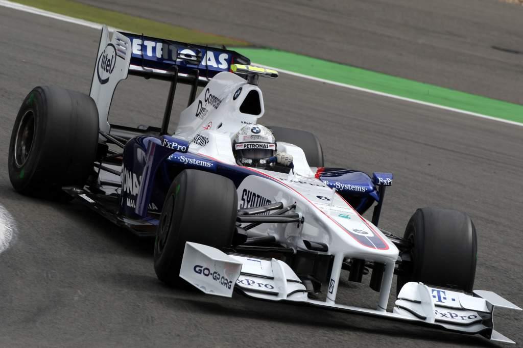 Nick Heidfeld Sauber F1