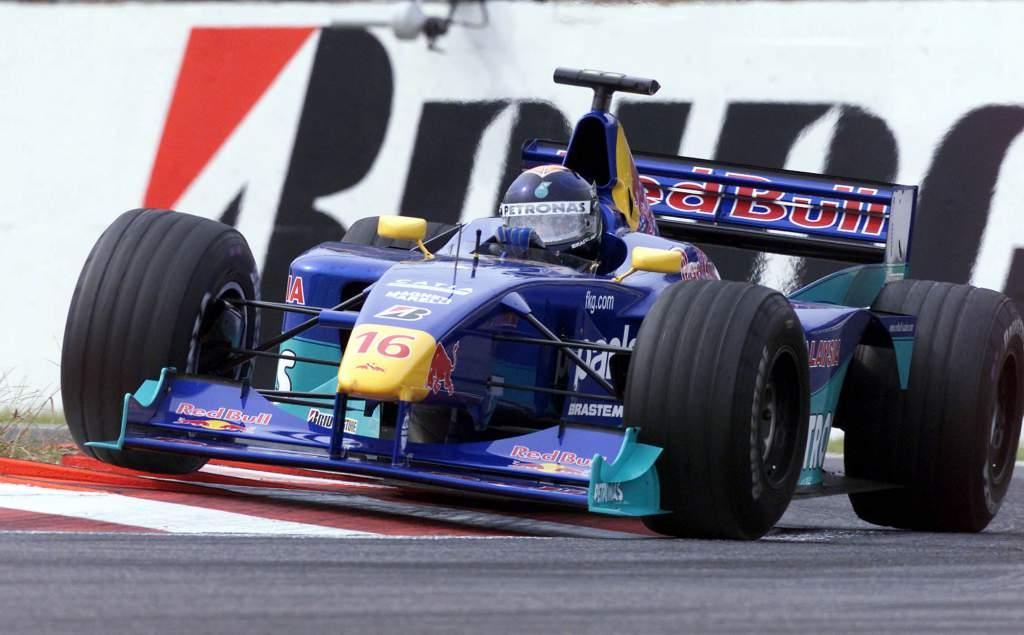 Pedro Diniz Sauber F1