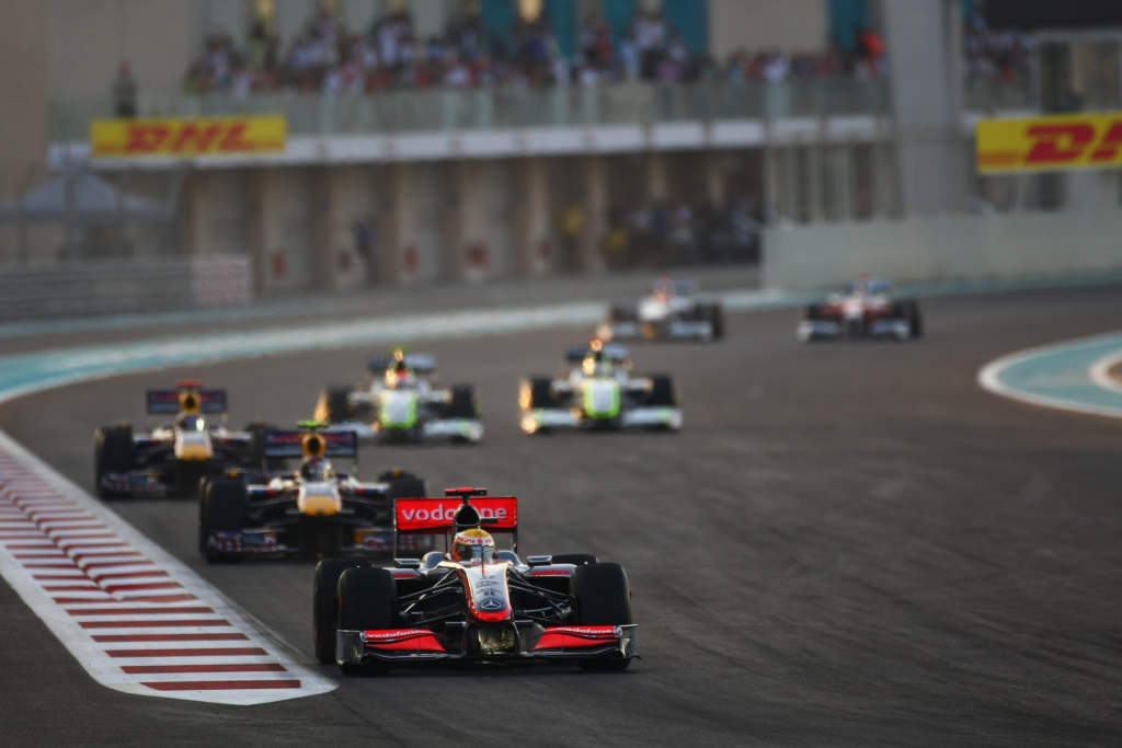 F1 Abu Dhabi 2009 start