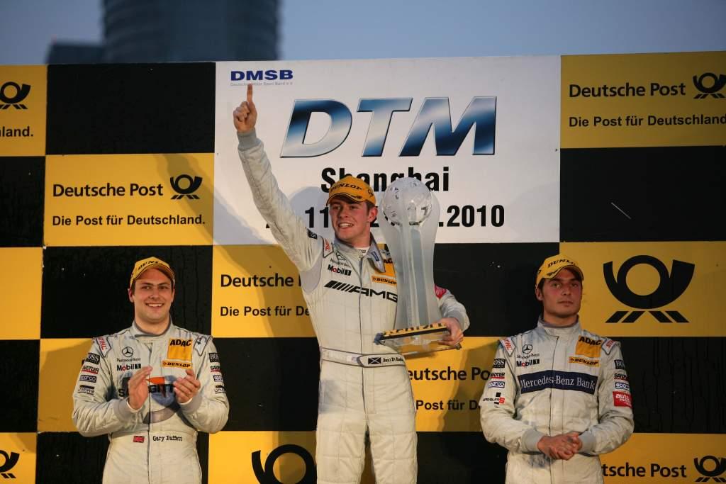 Paul di Resta wins 2010 DTM title