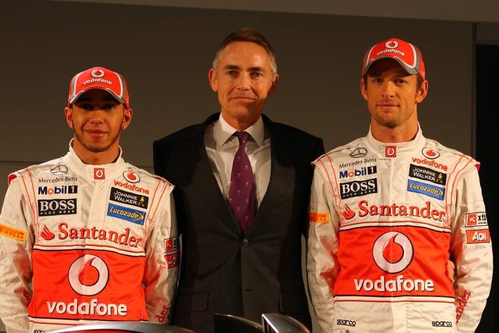 Martin Whitmarsh McLaren F1 Lewis Hamilton Jenson Button