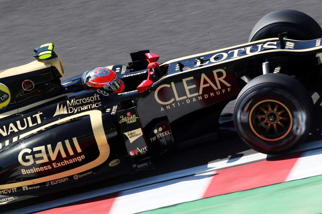 Romain Grosjean Lotus F1 2012