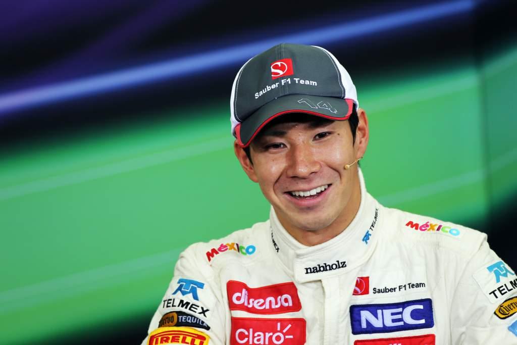 Kamui Kobayashi Sauber F1