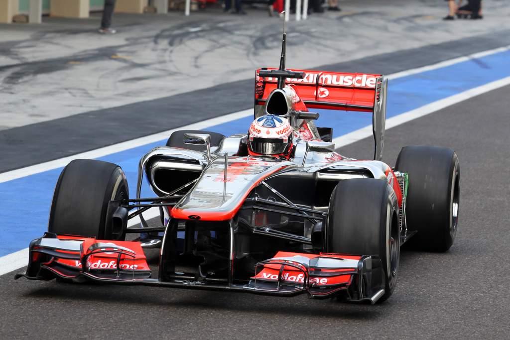 Gary Paffett McLaren F1 young drivers test