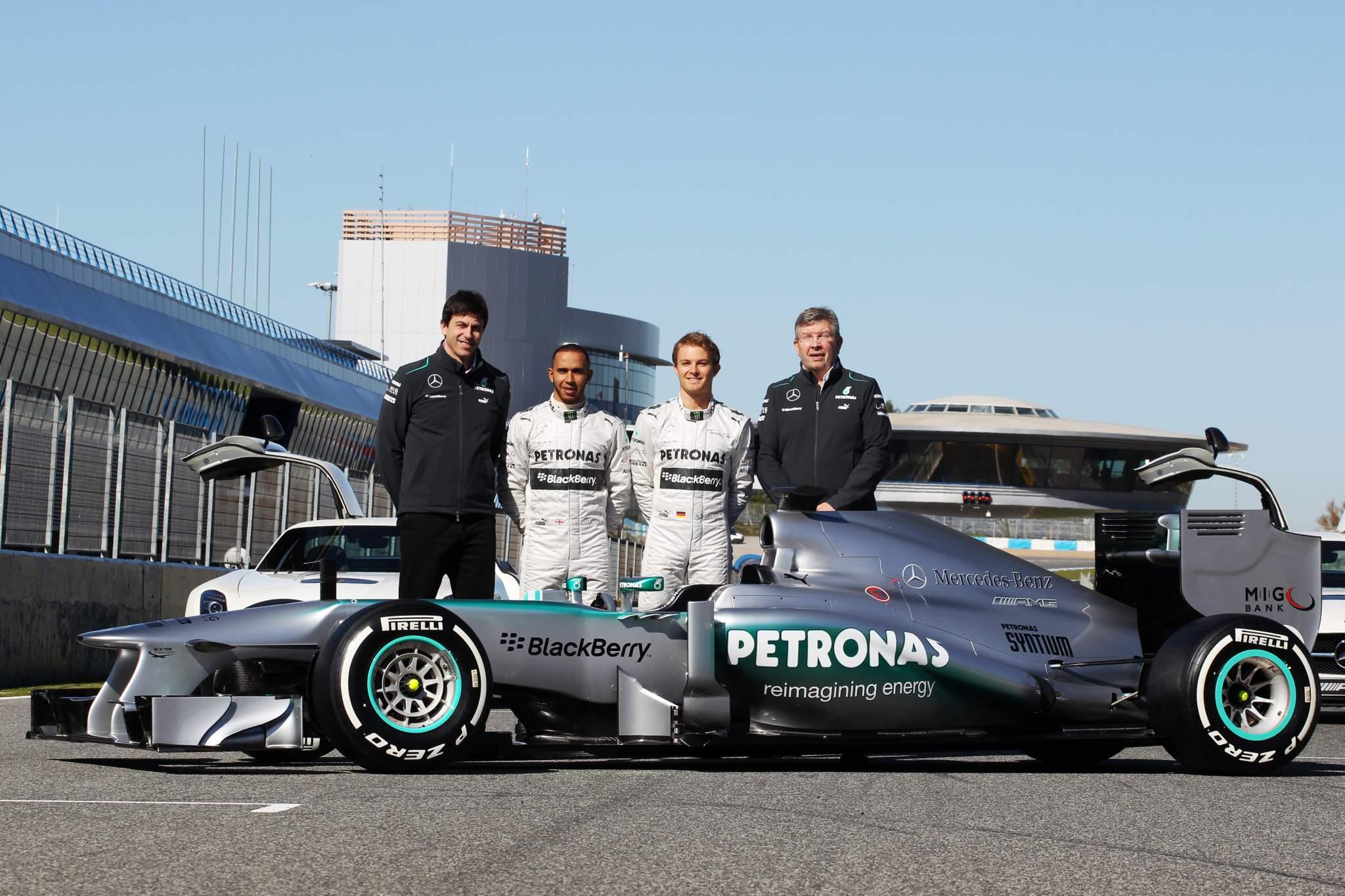 2013 Mercedes F1 launch