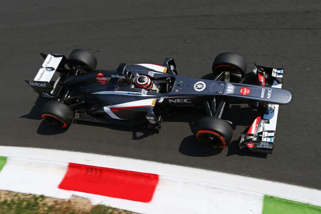 Nico Hulkenberg Sauber F1