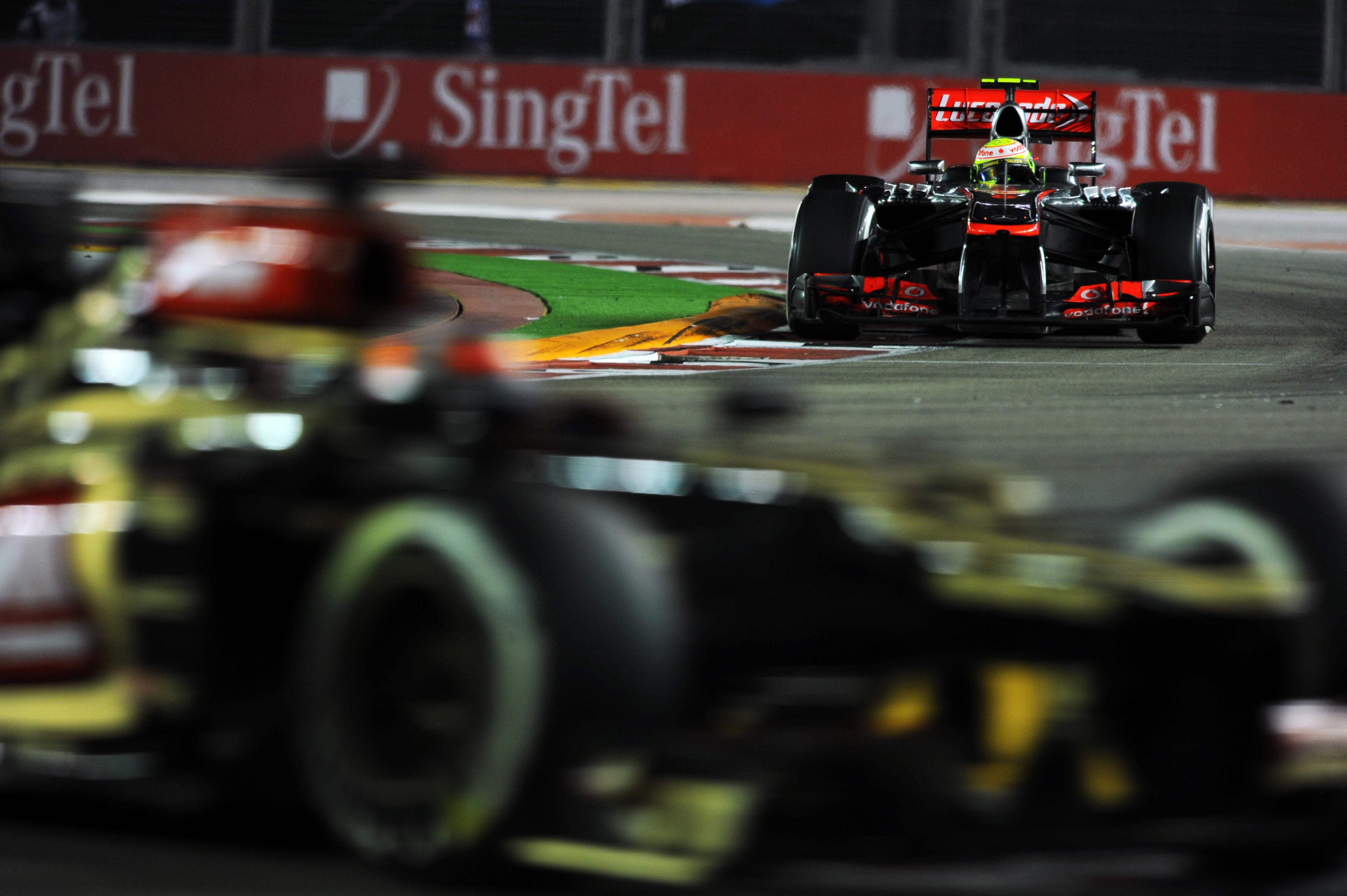 Motor Racing Formula One World Championship Singapore Grand Prix Race Day Singapore, Singapore