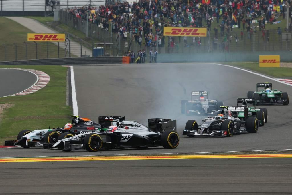 McLaren Force India 2014