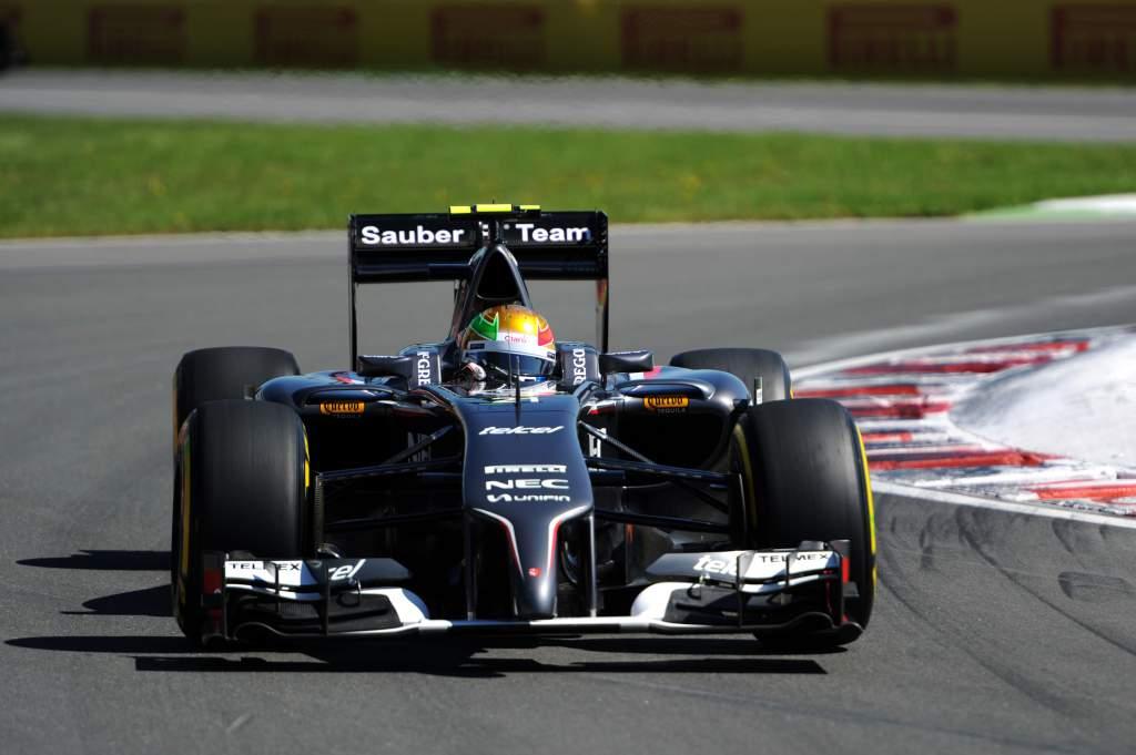 Esteban Gutierrez Sauber F1