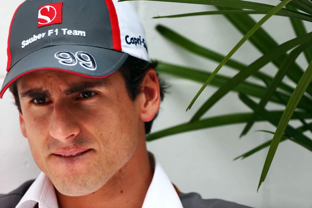 Adrian Sutil Sauber F1
