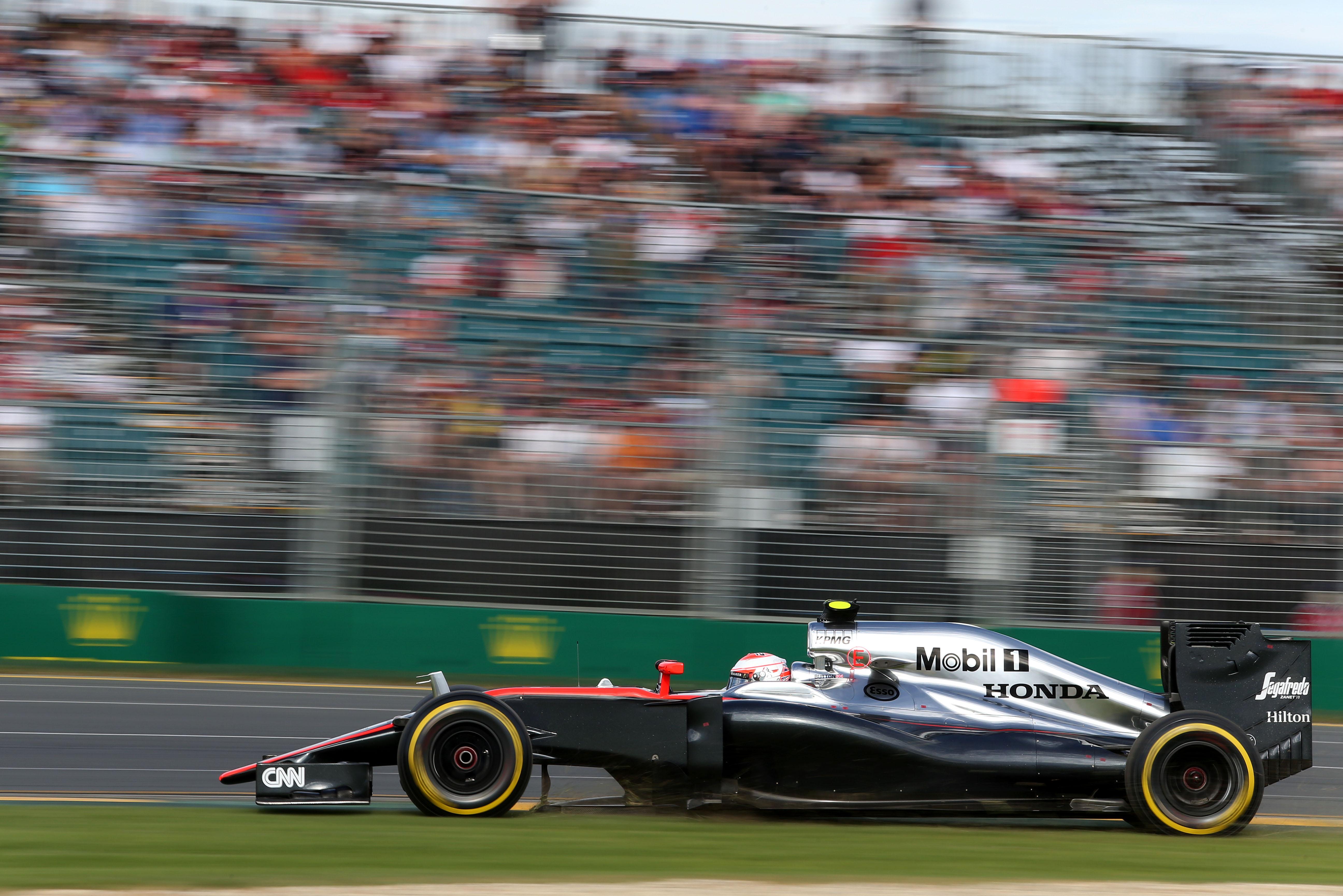 Jenson Button McLaren Australian Grand Prix 2015 Melbourne