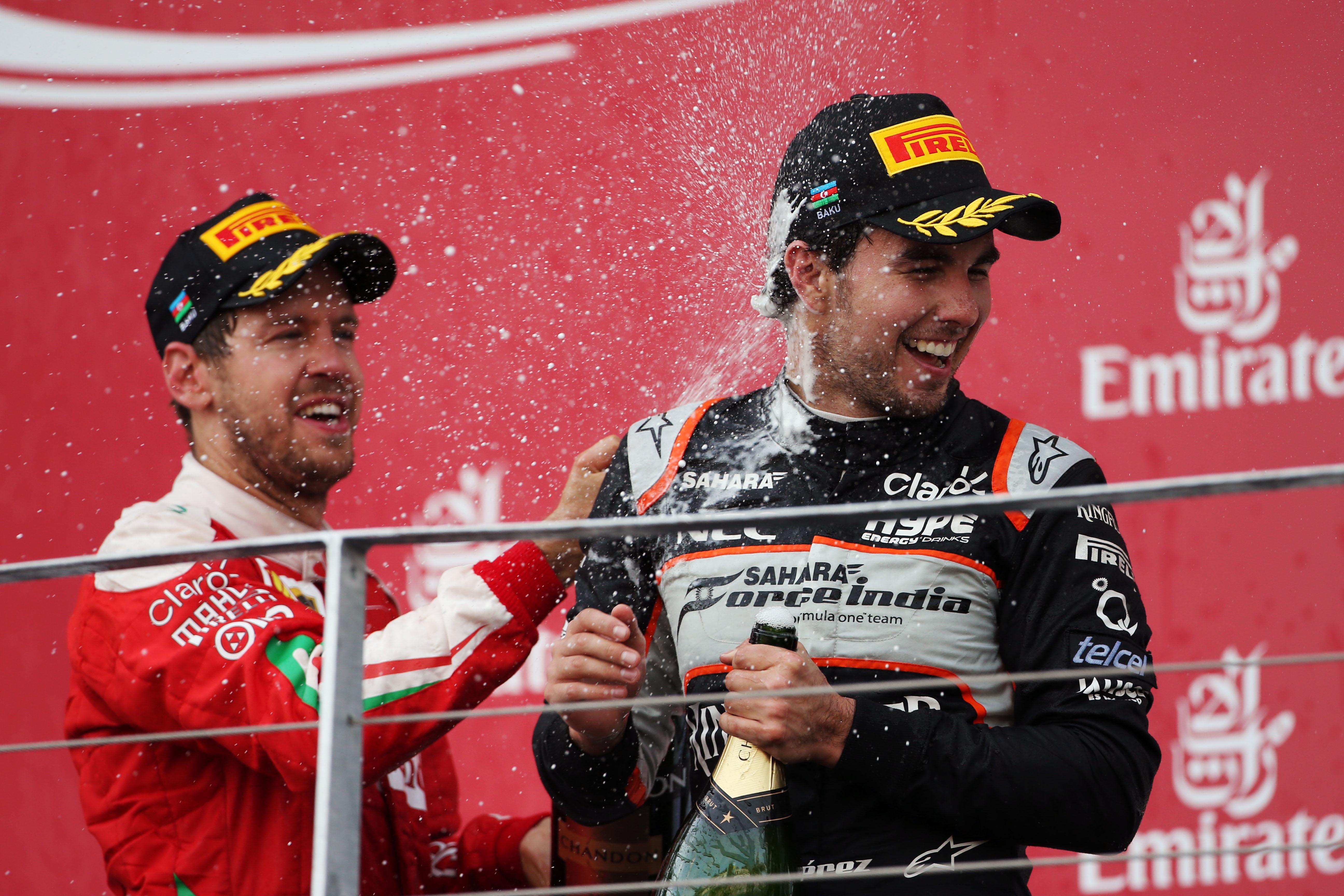 Motor Racing Formula One World Championship European Grand Prix Race Day Baku, Azerbaijan