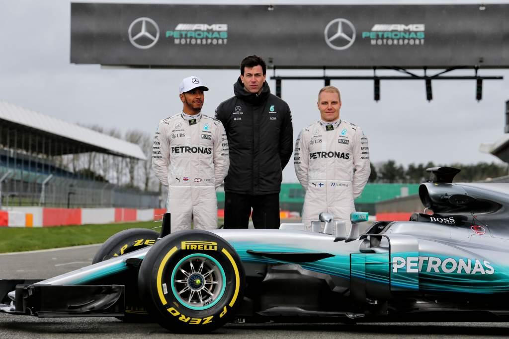 Mercedes F1 launch 2017
