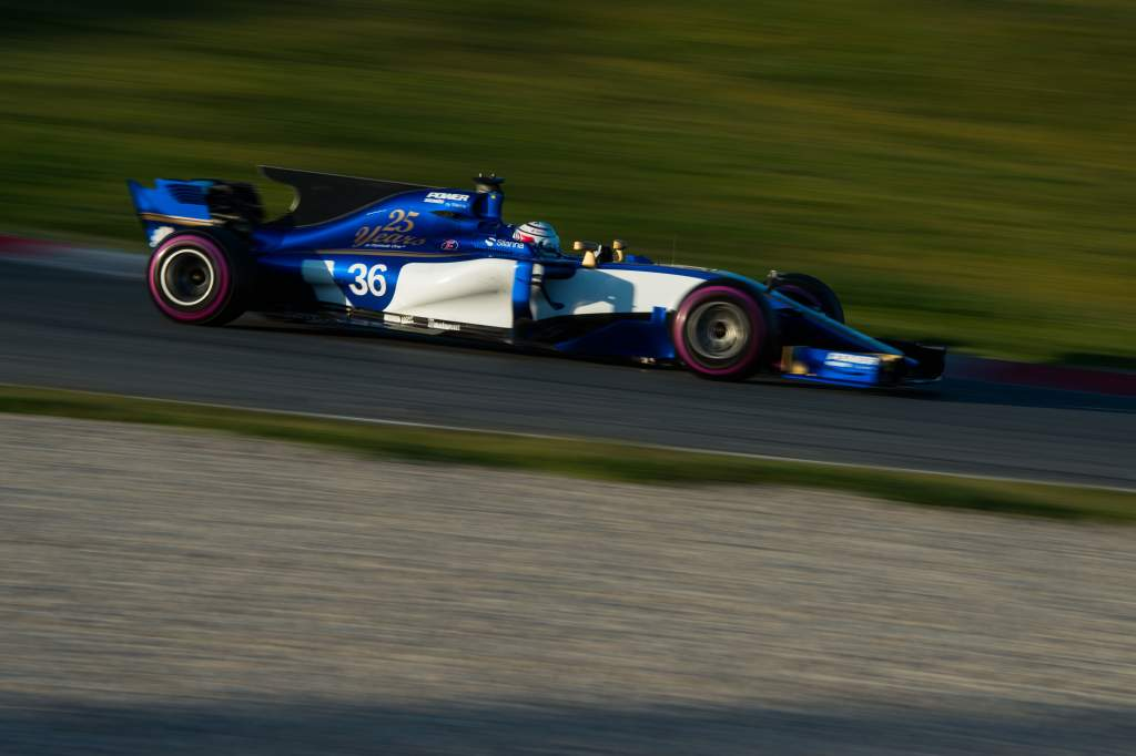 Antonio Giovinazzi Sauber F1