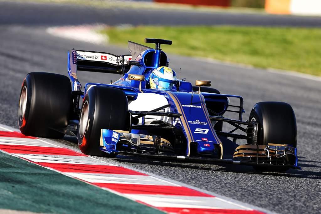 Marcus Ericsson Sauber F1