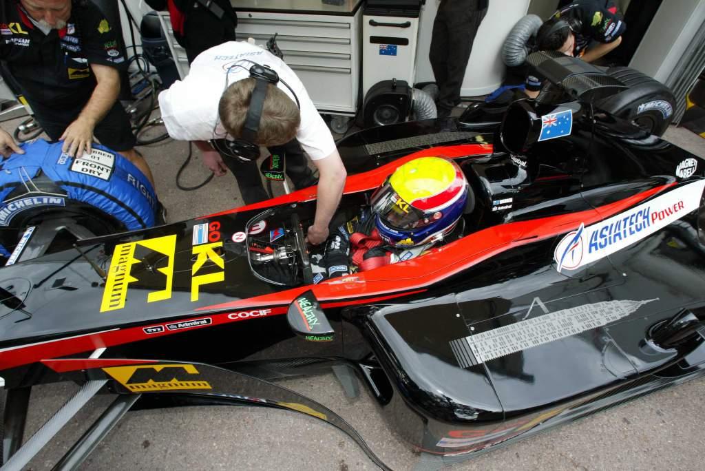 Mark Webber Minardi Monaco Grand Prix 2002