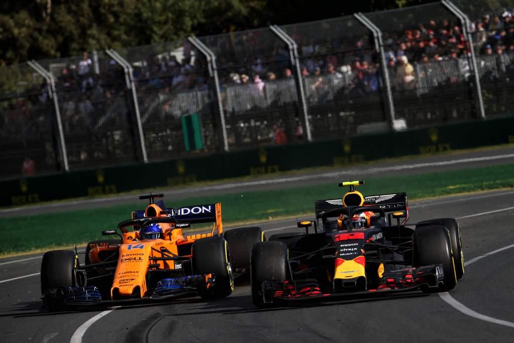 McLaren Red Bull 2018