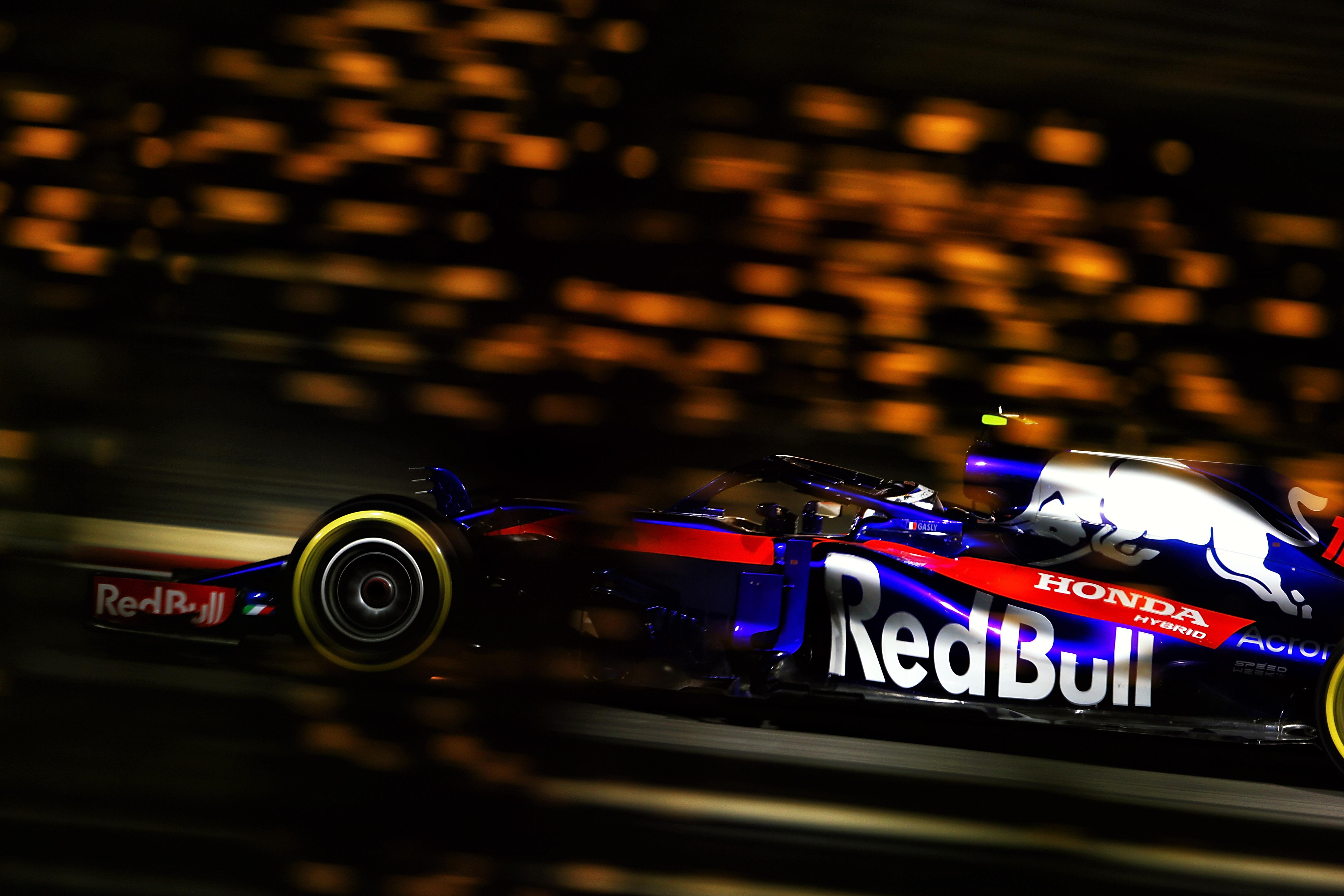 Pierre Gasly Toro Rosso Bahrain Grand Prix 2018