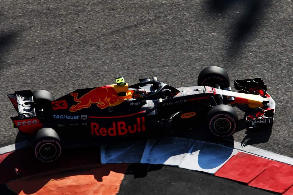 Max Verstappen Red Bull Mexican Grand Prix 2018