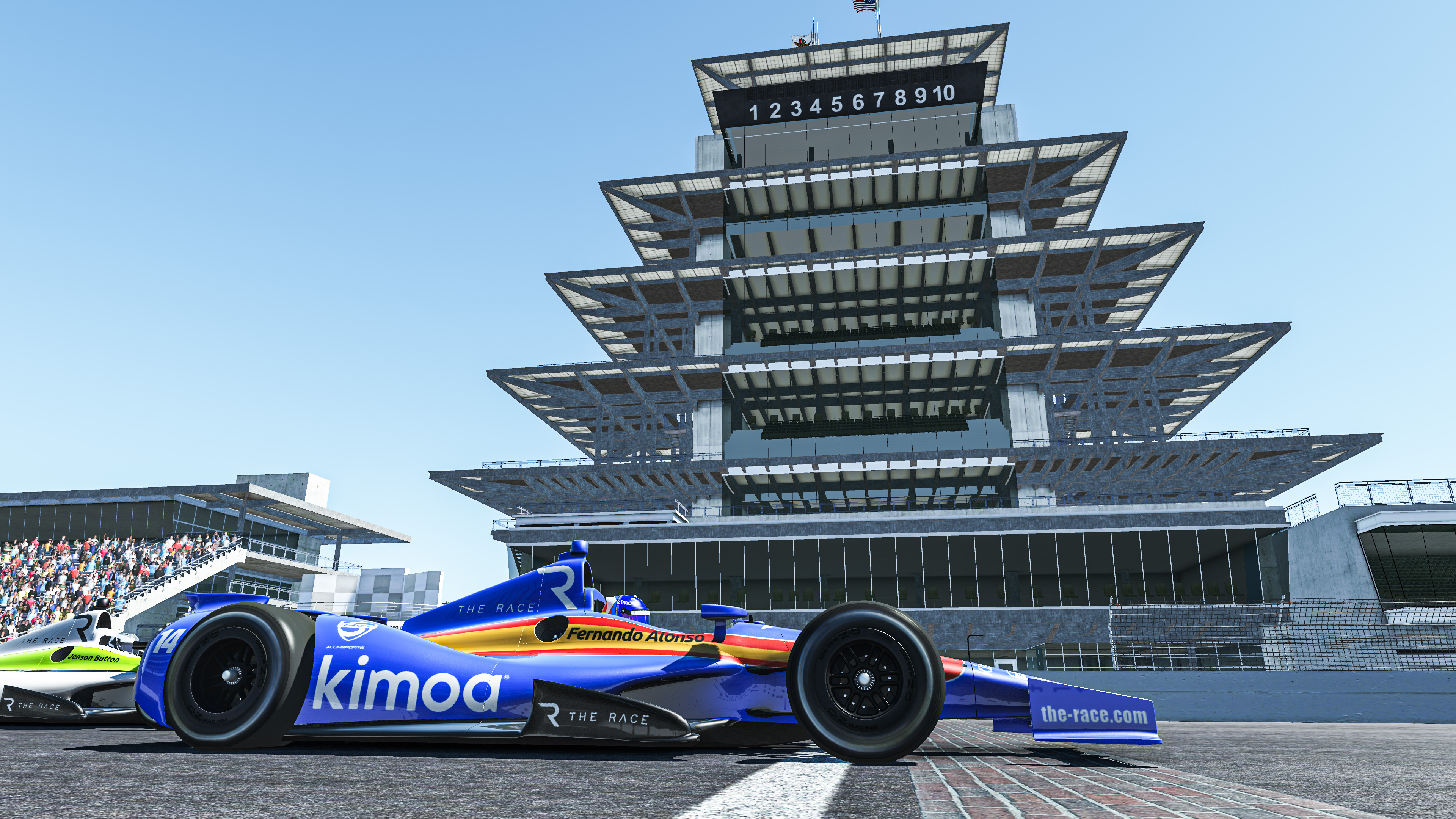 Fernando Alonso The Race Legends Trophy Indianapolis