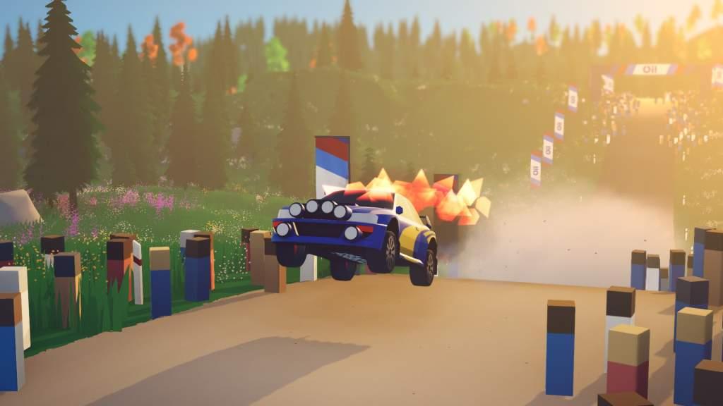 Art Of Rally Impreza Fire Pic 1