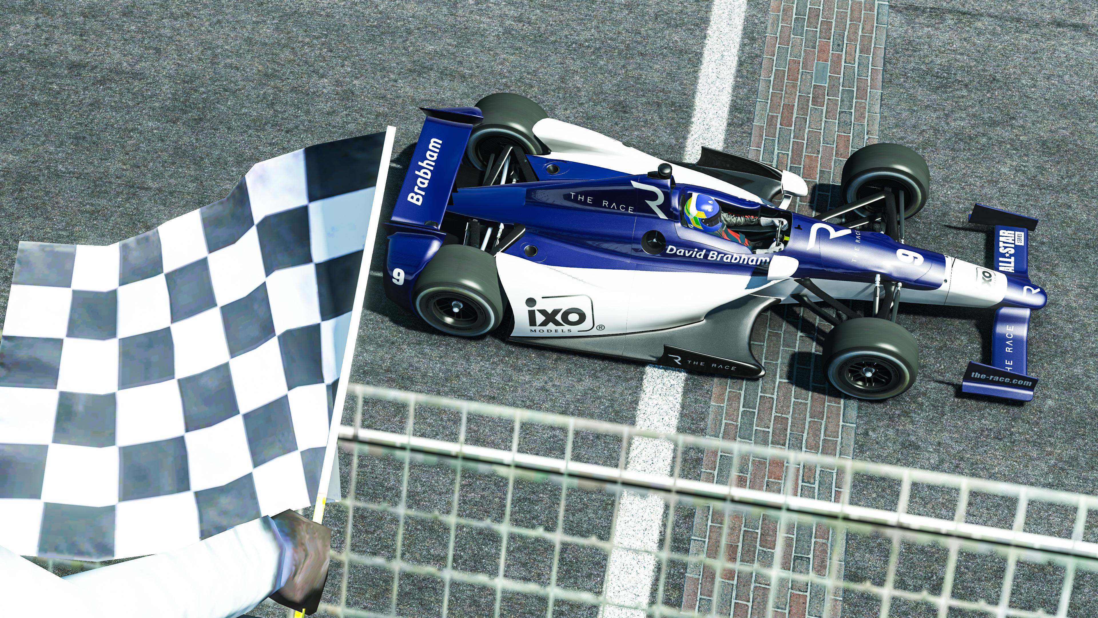 David Brabham The Race Legends Trophy Indianapolis