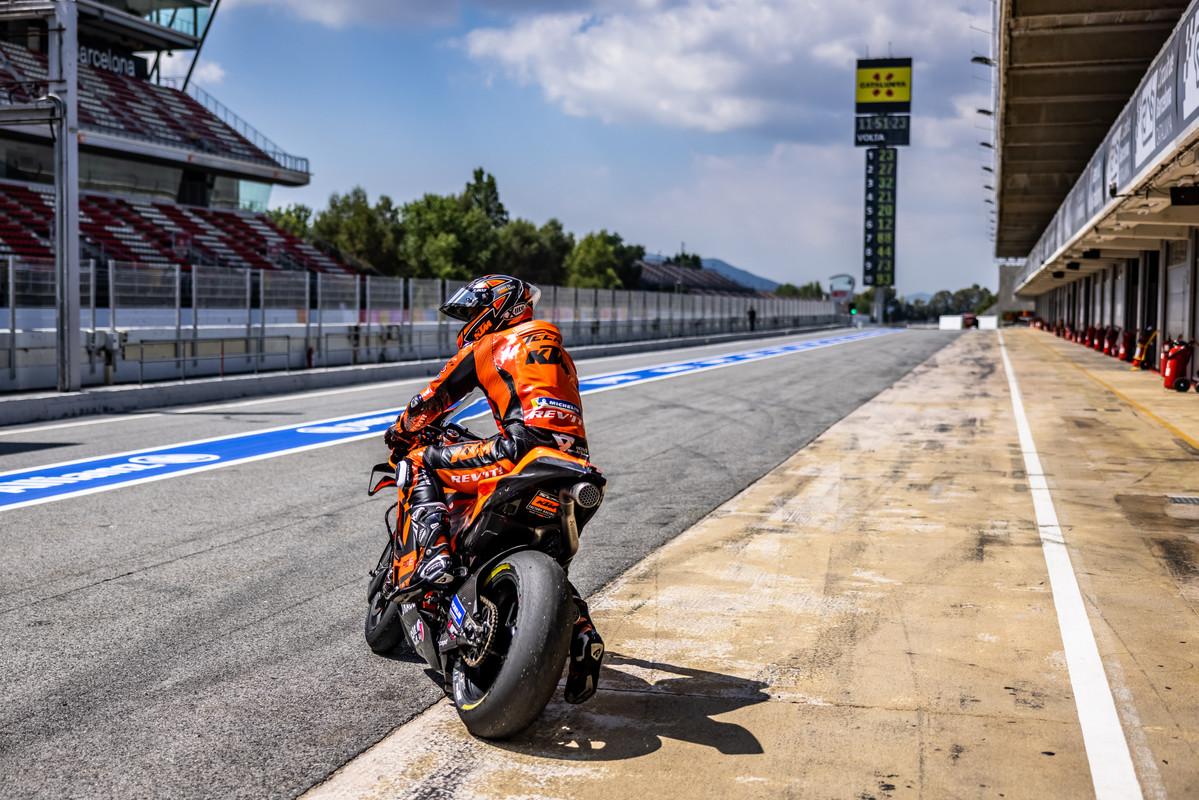 Danilo Petrucci Tech3 KTM Barcelona MotoGP test 2021