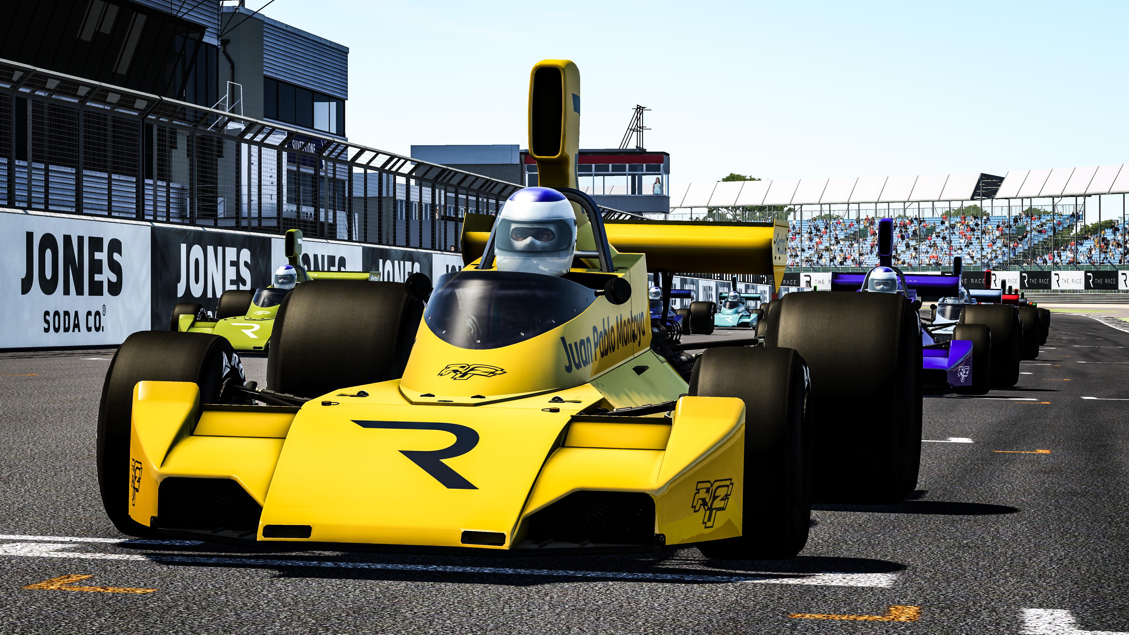The Race Legends Trophy Juan Pablo Montoya