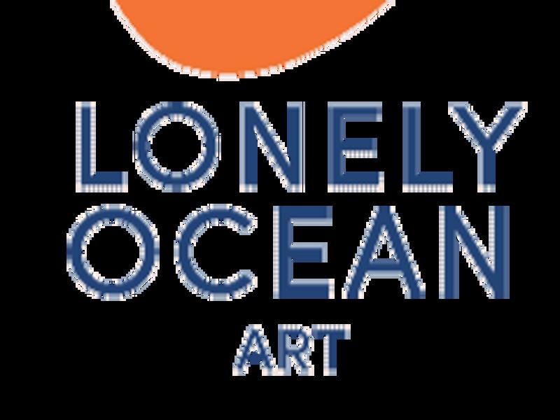 Portrait of A Figure: Lonely Ocean Art
