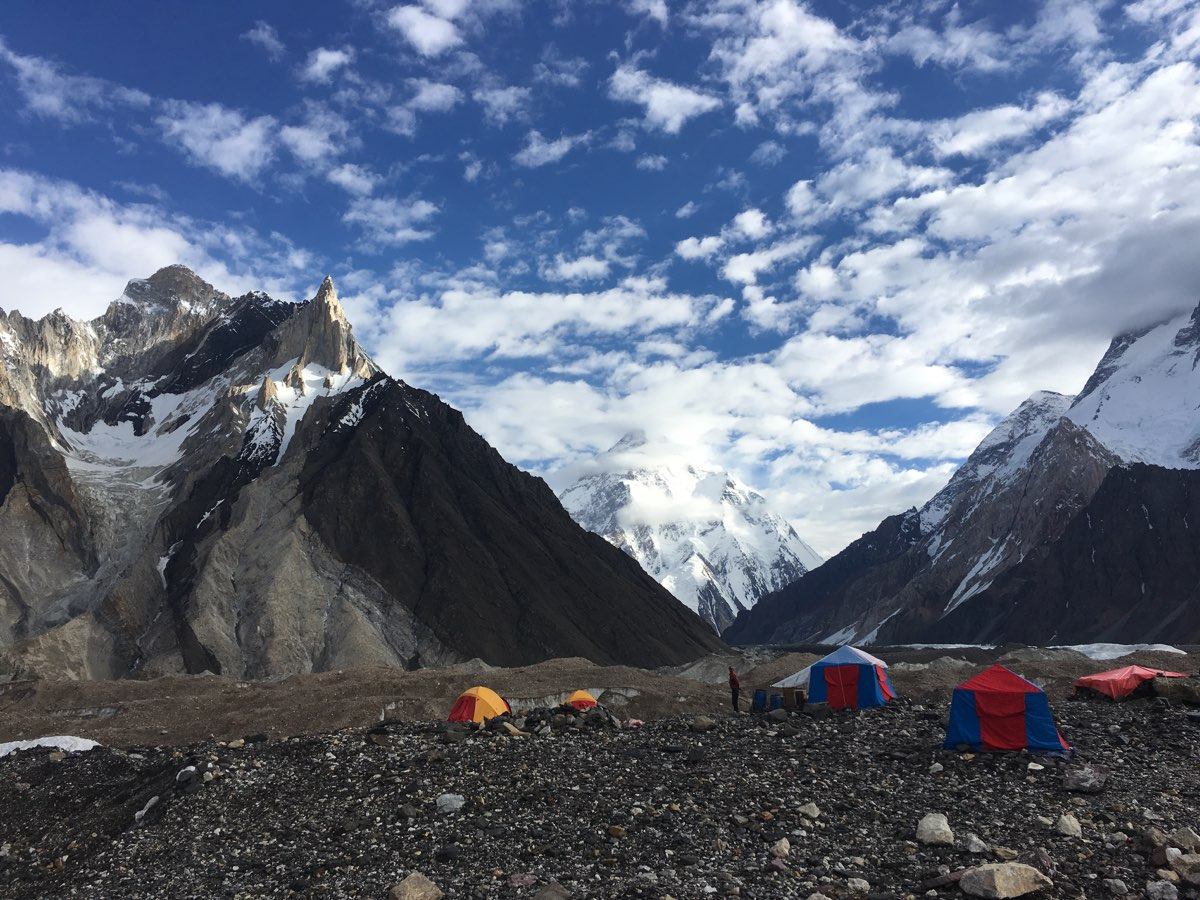 View of k2 from concordia