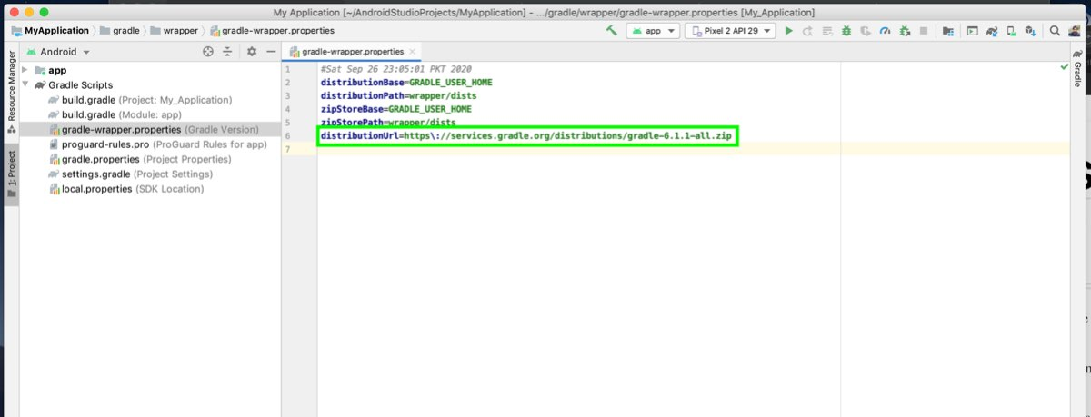 """How to Solve """"Gradle Project Sync Failed"""" Error"""